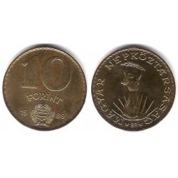 (636) Hungria. 1989. 10 Forint (SC)