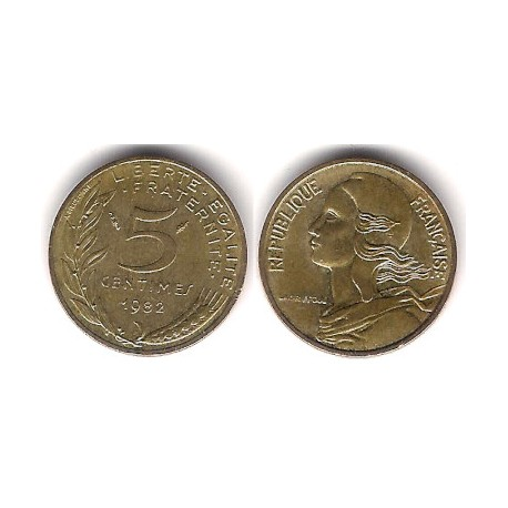 (933) Francia. 1982. 5 Centimes (MBC+)
