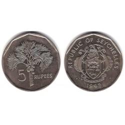 (51.2) Seychelles. 1992. 5 Francs (MBC)