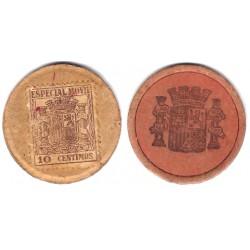 España (II República). 1937. 10 Céntimos (BC+)
