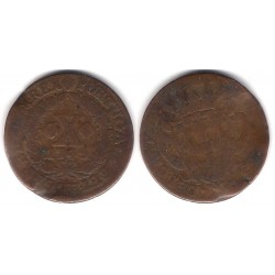 (227) Portugal. 1745. 10 Reis (BC)