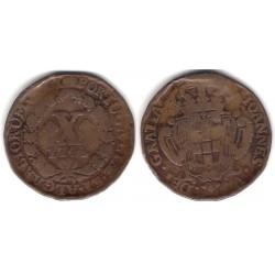 (227) Portugal. 1742. 10 Reis (BC+)