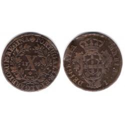 (309) Portugal. 1799. 10 Reis (MBC+)