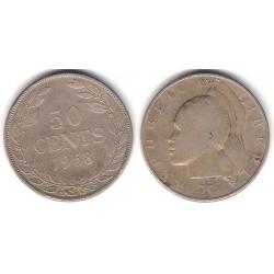 (17a.2) Liberia. 1968. 50 Cents (MBC)