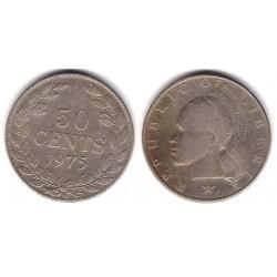 (17a.2) Liberia. 1975. 50 Cents (MBC+)