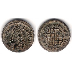 Carlos III (Arch. Austria). 1710. Dinero (EBC) Ceca de Barcelona