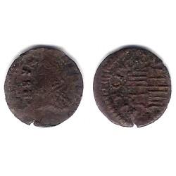 Carlos III (Arch. Austria). Sin Fecha. Dinero (BC) Ceca de Barcelona