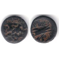 Arados (Fenicia). 165-160 a.C. Modulo Pequeño de Bronce (MBC-)