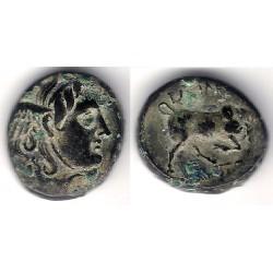 Reino Seléucida. 312-280 a.C. Módulo de Bronce (MBC+