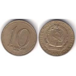 (86.1) Angola. 1978. 10 Kwanzas (MBC)