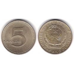 (85) Angola. 1977. 5 Kwanzas (MBC+)