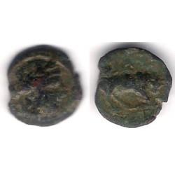 Masalia (Marsella). 130-121 a.C. Módulo Pequeño de Brone (BC)