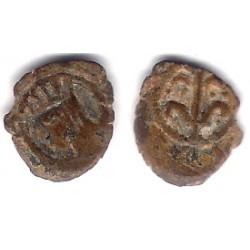 Carlos I. 1516-58. Dinero (BC) Ceca de Lérida