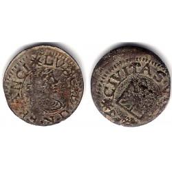 Luis XIV (Principado Catalán). 1643. Dinero (BC) Ceca de Vic