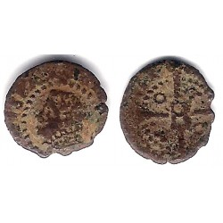 Felipe IV. Sin Fecha. Dinero (BC) Ceca de Barcelona
