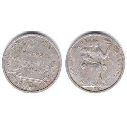 (3) Polinesia Francesa. 1965. 2 Francs (BC)