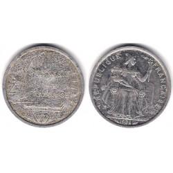 (10) Polinesia Francesa. 1984. 2 Francs (BC)