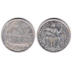 (10) Polinesia Francesa. 1983. 2 Francs (BC)