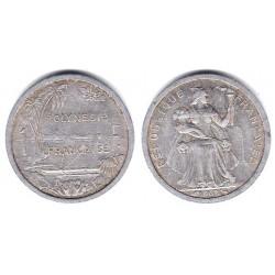 (2) Polinesia Francesa. 1965. 1 Franc (MBC)