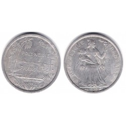 (11) Polinesia Francesa. 1979. 1 Franc (EBC)
