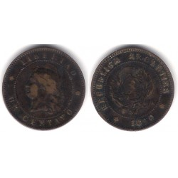 Argentina. 1880. 1 Centavo (MBC-)