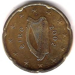 Irlanda. 2002. 20 Céntimos (SC)