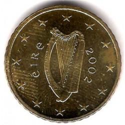 Irlanda. 2002. 50 Céntimos (SC)