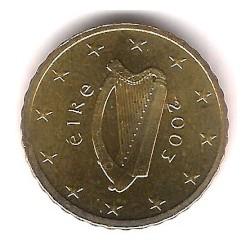Irlanda. 2003. 10 Céntimos (SC)