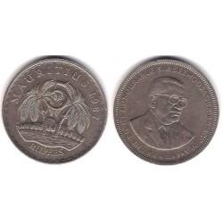 (56) Mauritius. 1987. 5 Rupees (MBC+)