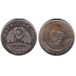 (56) Mauricio 1991. 5 Rupees (MBC)