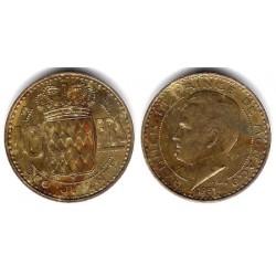 (130) Mónaco. 1951. 10 Francs (MBC)