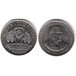 (56) Mauricio. 1992. 5 Rupees (EBC+)