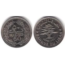 (28.1) Líbano. 1970. 50 Piastres (SC)