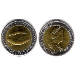 Tristán de Acuña. 2008. 25 Pence (SC)