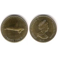 Tristán de Acuña. 2008. 20 Pence (SC)