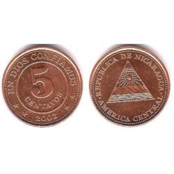 (97) Nicaragua. 2002. 5 Centavos (SC)