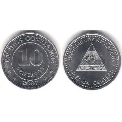 (107) Nicaragua. 2007. 10 Centavos (SC)