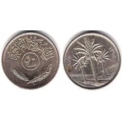 (128) Iraq. 1975. 50 Fils (EBC-)