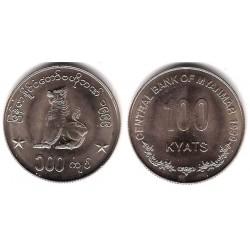 (64) Myanmar. 1999. 1000 Kyats (SC)