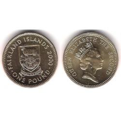 (24) Islas Malvinas. 2000. 1 Pound (SC)