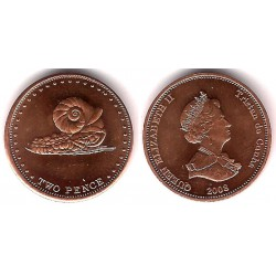 Tristán de Acuña. 2008. 2 Pence (SC)