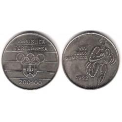 (662) Portugal. 1992. 200 Escudos (SC)