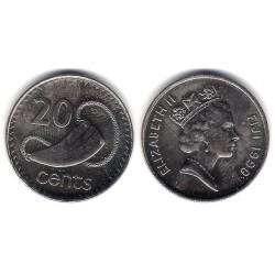 (53a) Islas Fiji. 1990. 20 Cents (SC)