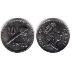 (52a) Islas Fiji. 1992. 10 Cents (SC)