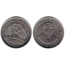 (56) Mauricio. 1991. 5 Rupees (EBC+)
