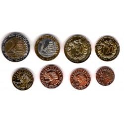 Polonia. 2004. Serie Completa (SC) Prueba de Euro