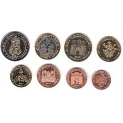 Rumania. 2004. Serie Completa (SC) Prueba de Euro
