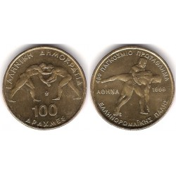 (173) Grecia. 1999. 100 Drachma (SC)