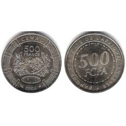 Estados África Central. 2006. 500 Francs (SC)