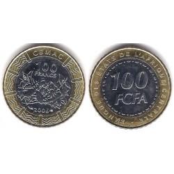 (15) Estados África Central. 2006. 100 Francs (SC)